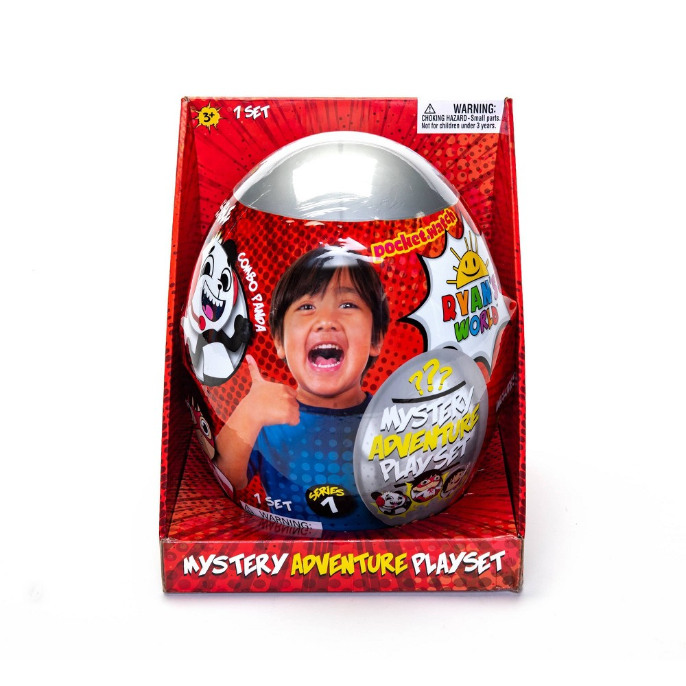 Ryan's World Mystery Adventure Playset Egg from Ryan's World