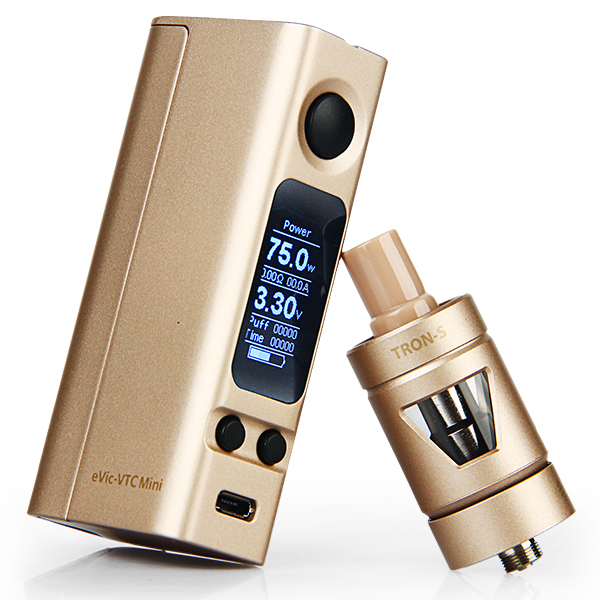 [Sales] Joyetech eVic-VTC Mini 75W TC Full Kit with TRON-S Atomizer(Red)