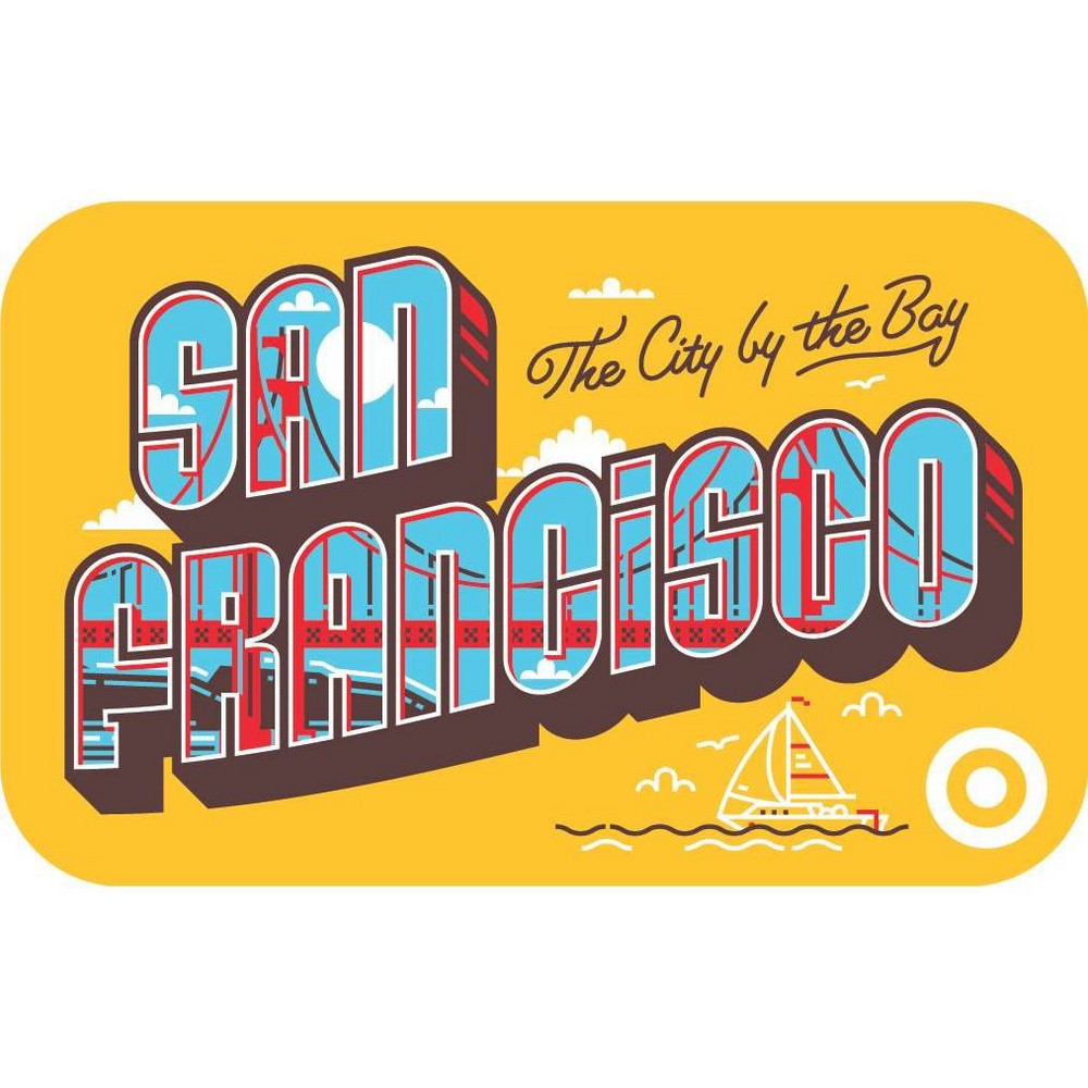 San Fran Postcard $200 GiftCard from Target