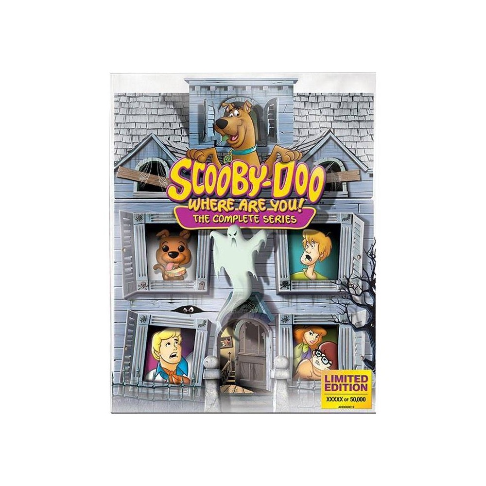 Scooby-Doo! Where Are You? The Complete Series (Blu-ray) from Warner