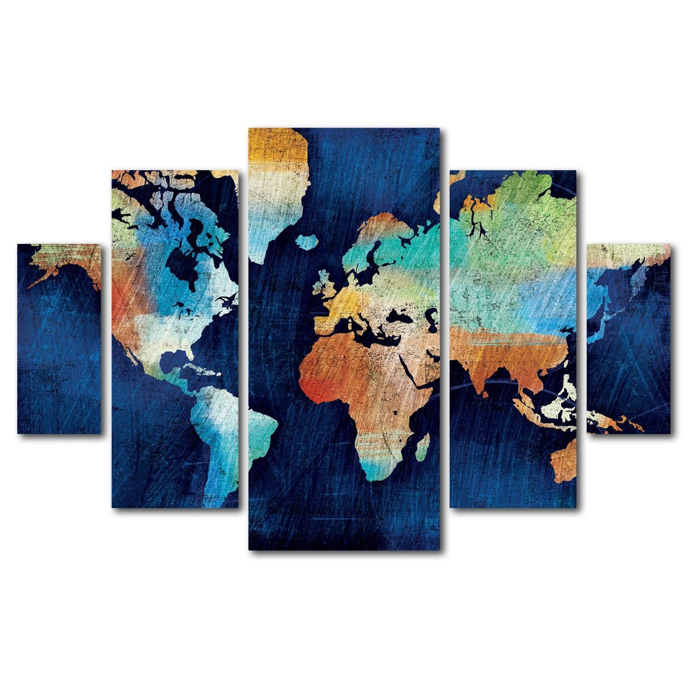 5pc Seasons Change by Michael Mullan - Trademark Fine Art from Trademark Global