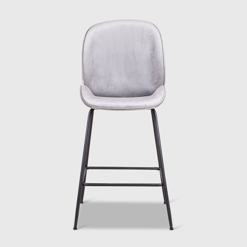 Set of 2 Kinyon Upholstered Barstools Gray - RST Brands from RST Brands