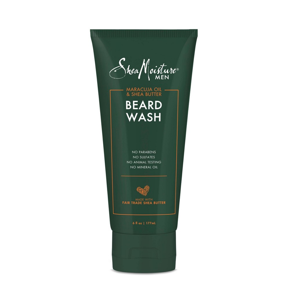 SheaMoisture Maracuja Oil & Shea Butter Beard Wash - 6oz