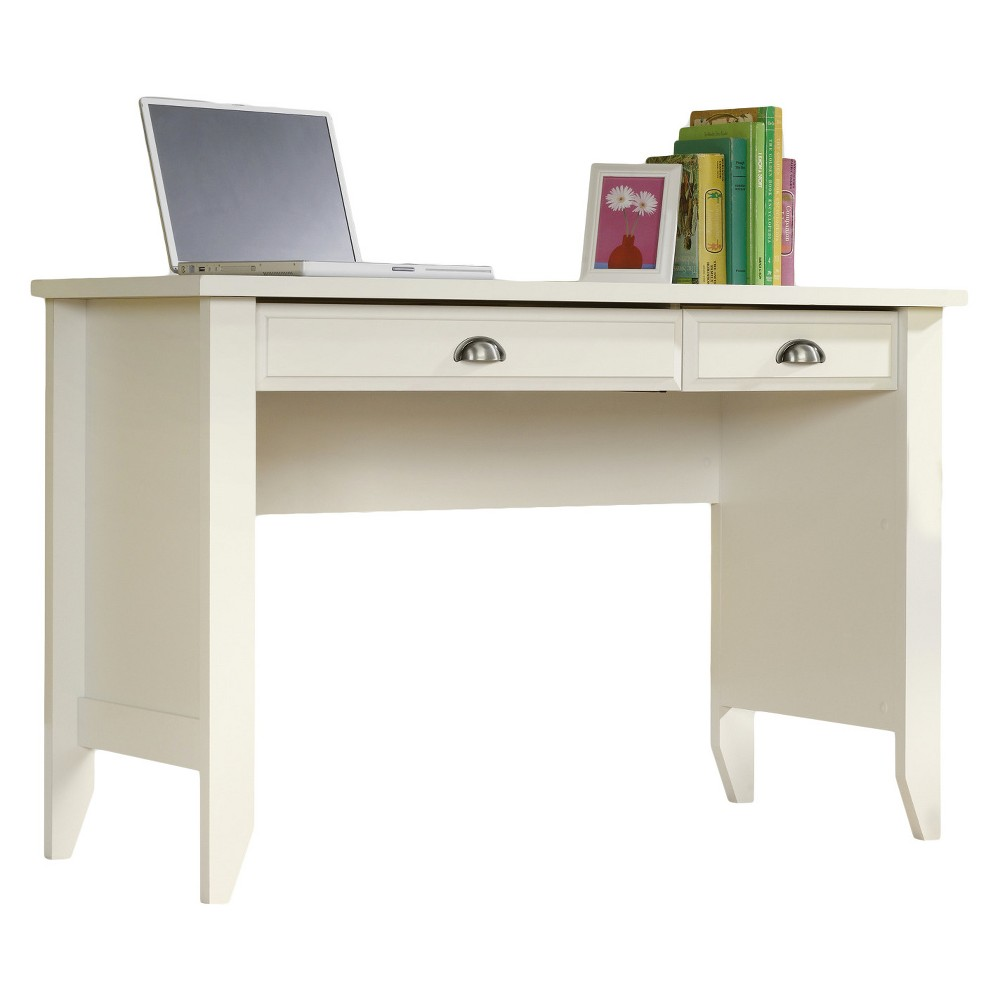 Shoal Creek Computer Desk with Slide Out Keyboard - Soft White - Sauder from Sauder