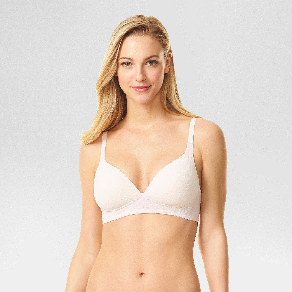 Simply Perfect by Warner's Women's Breathable Wirefree Bra - Rosewater 38D from Simply Perfect by Warner's