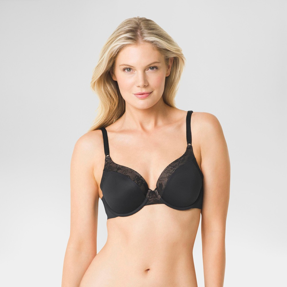 Simply Perfect by Warner's Women's Smooth Look Underwire Bra - Black 36B from Simply Perfect by Warner's