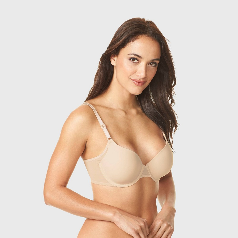 Simply Perfect by Warner's Women's Underarm Smoothing Mesh Underwire Bra - Butterscotch 38C from Simply Perfect by Warner's