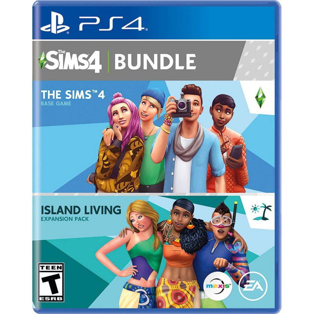 Sims 4 + Island Living - PlayStation 4 from Electronic Arts