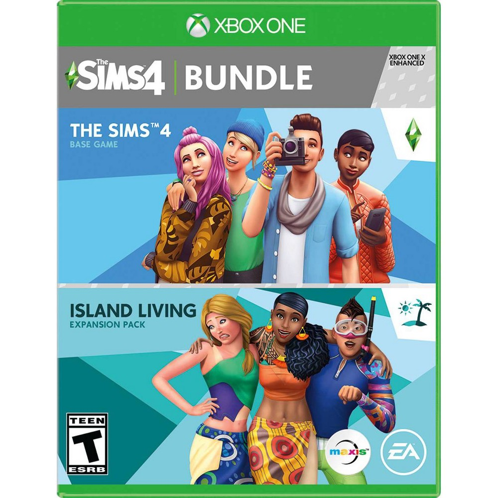 Sims 4 + Island Living - Xbox One from Electronic Arts