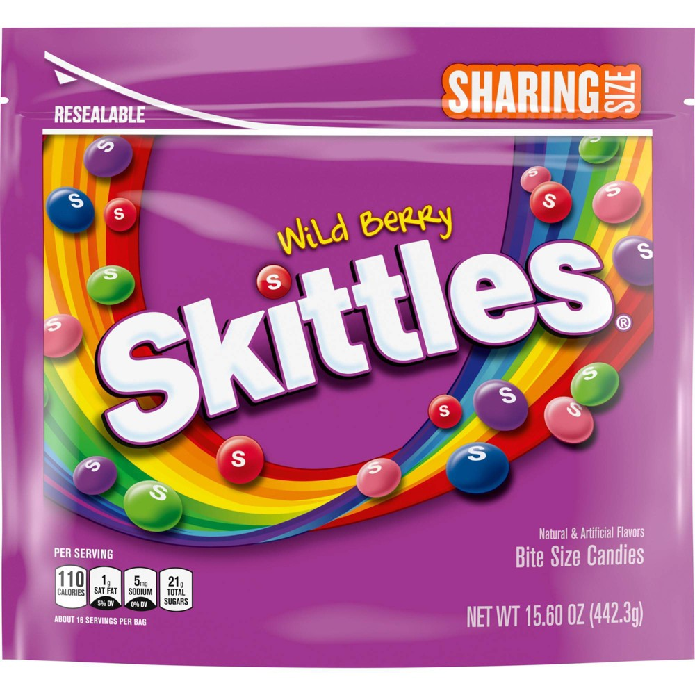 Skittles Wild Berry Sharing Size Chewy Candy - 15.6oz from Skittles