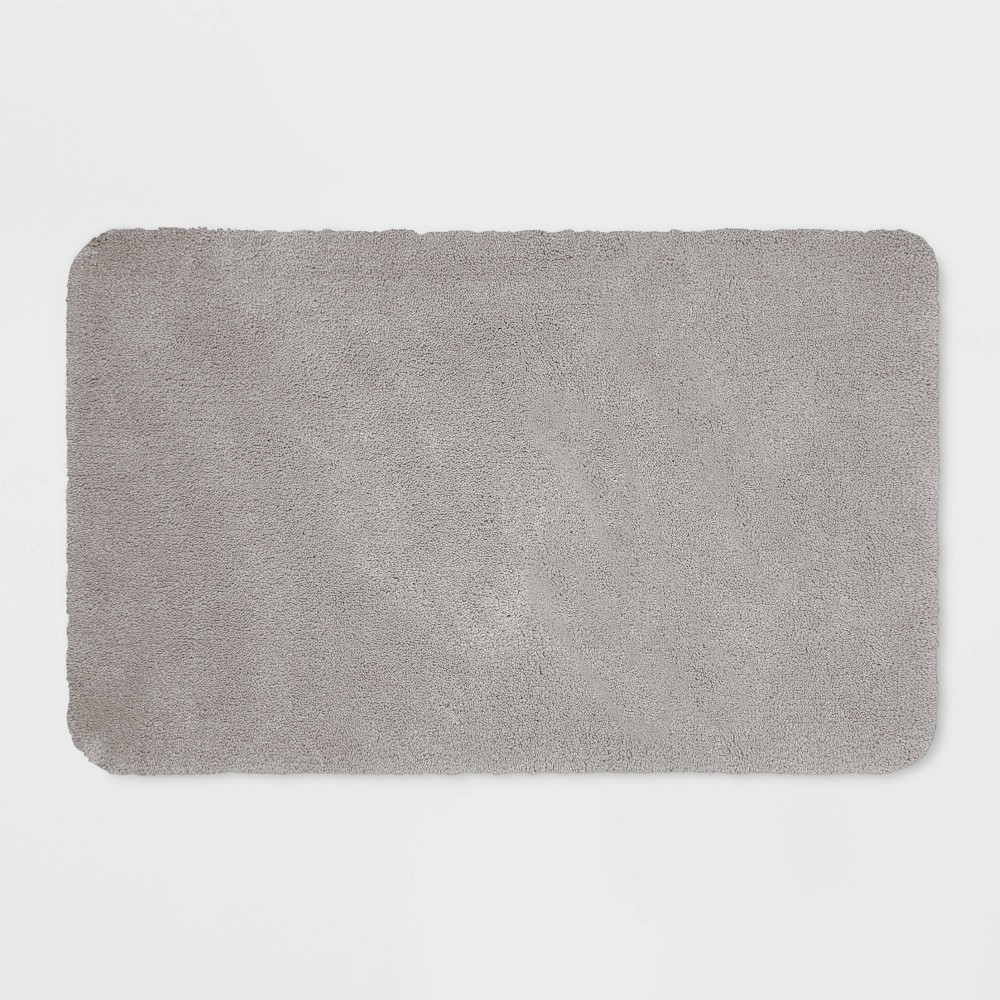 "23""x37"" Performance Nylon Bath Rug Gray - Threshold from Threshold"