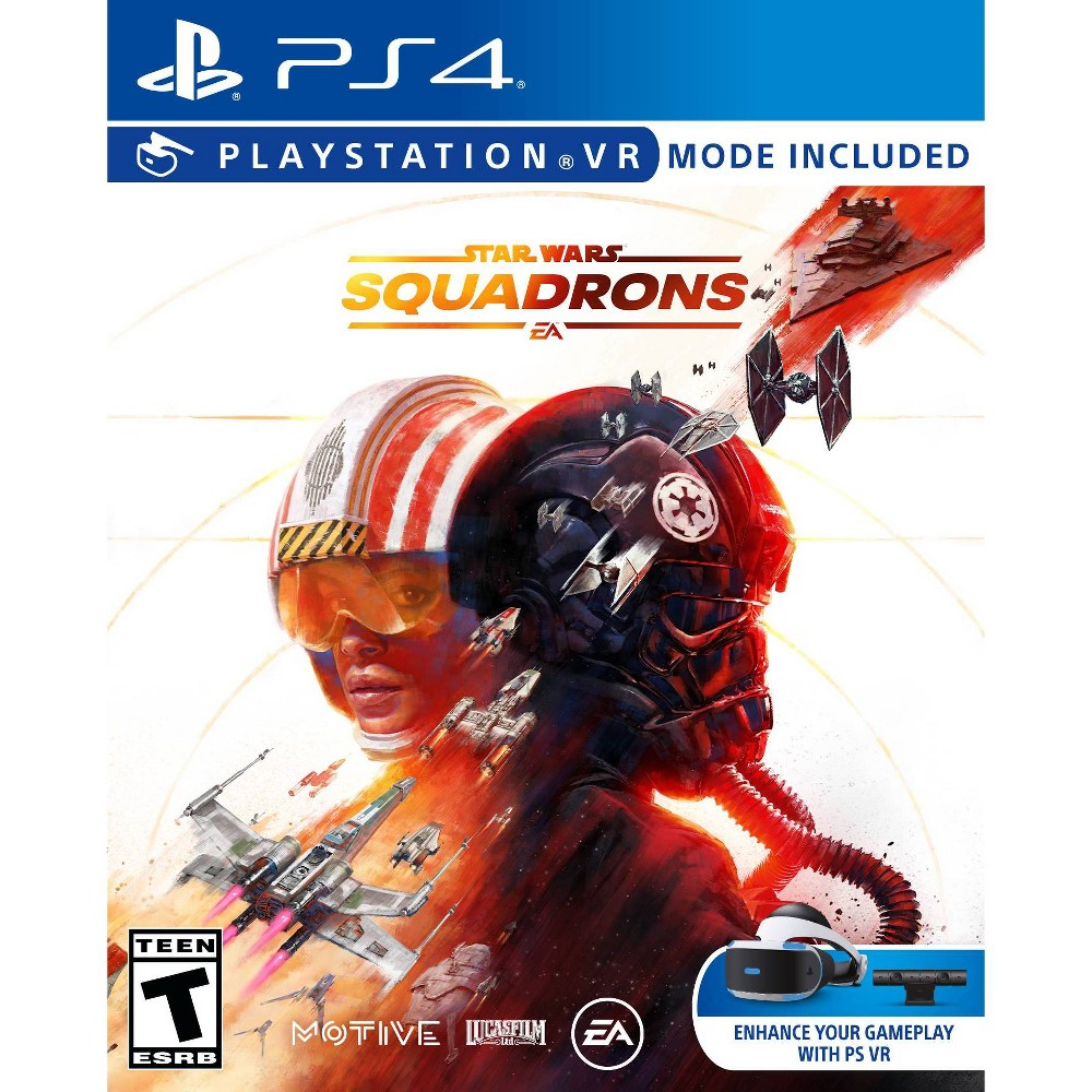 Star Wars: Squadrons - VR Mode Included - PlayStation 4 from Electronic Arts