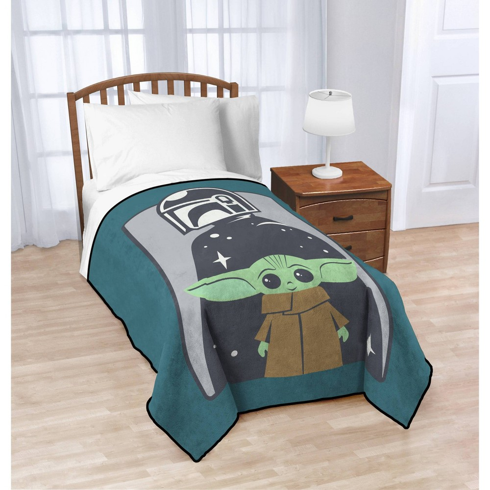 Star Wars: The Mandalorian The Child Blanket from Star Wars: The Mandalorian