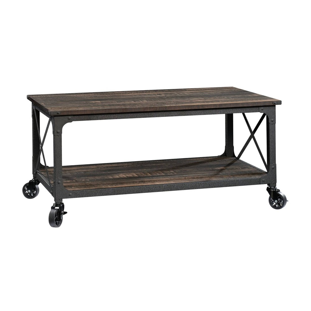 Steel River Coffee Table Carbon Oak - Sauder from Sauder