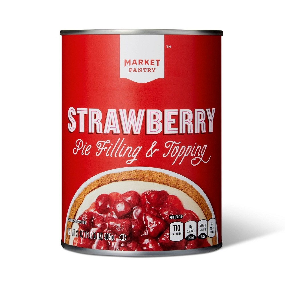 Strawberry Pie Filling or Topping - 21oz - Market Pantry from Market Pantry
