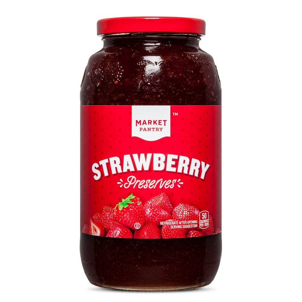 Strawberry Preserves - 32oz - Market Pantry from Market Pantry