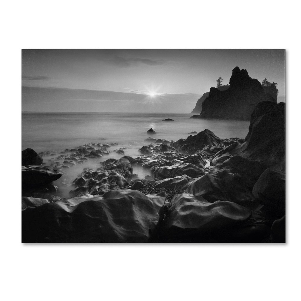 "35"" x 47"" Sunset At Ruby Beach by Moises Levy - Trademark Fine Art from Trademark Global"