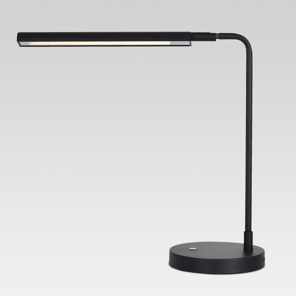 Lemke Desk Lamp (Includes LED Light Bulb) Black - Project 62 from Project 62