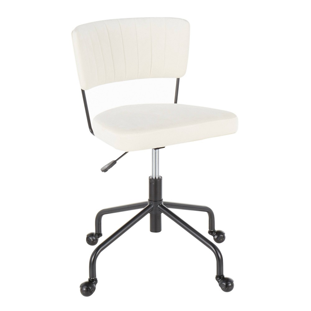 Tania Contemporary Task Chair Cream - LumiSource