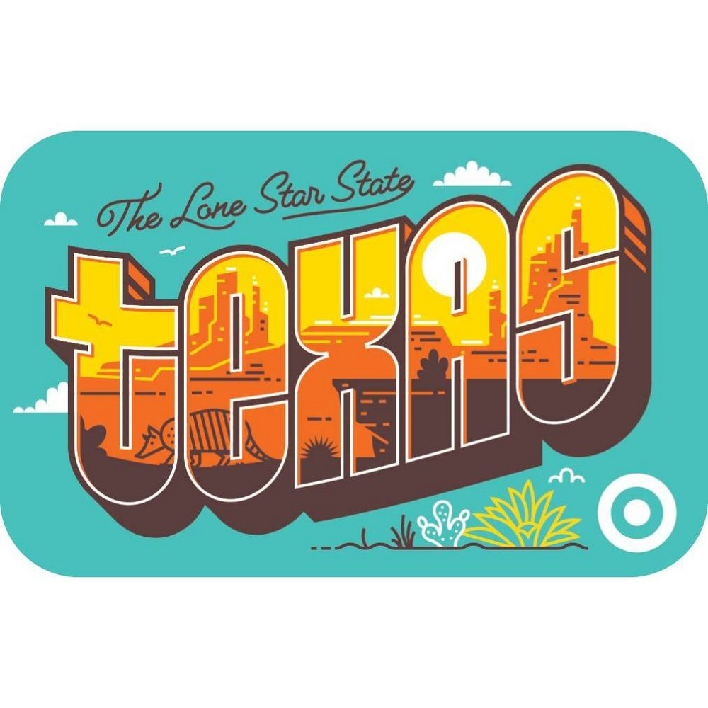 Texas Postcard $200 GiftCard from Target