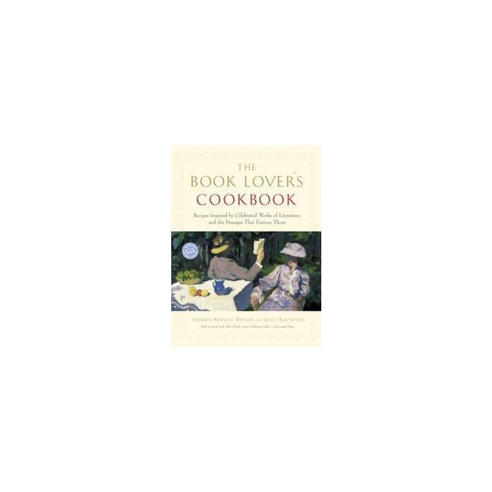 The Book Lover's Cookbook - by Shaunda Kennedy Wenger & Janet Jensen (Paperback) from Gold Medal