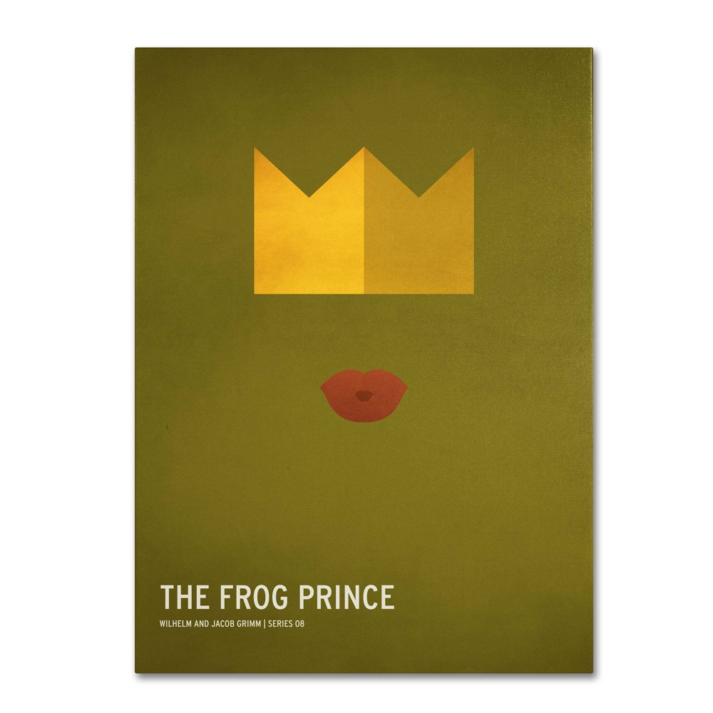 "16"" x 24"" The Frog Prince by Christian Jackson - Trademark Fine Art from Trademark Global"
