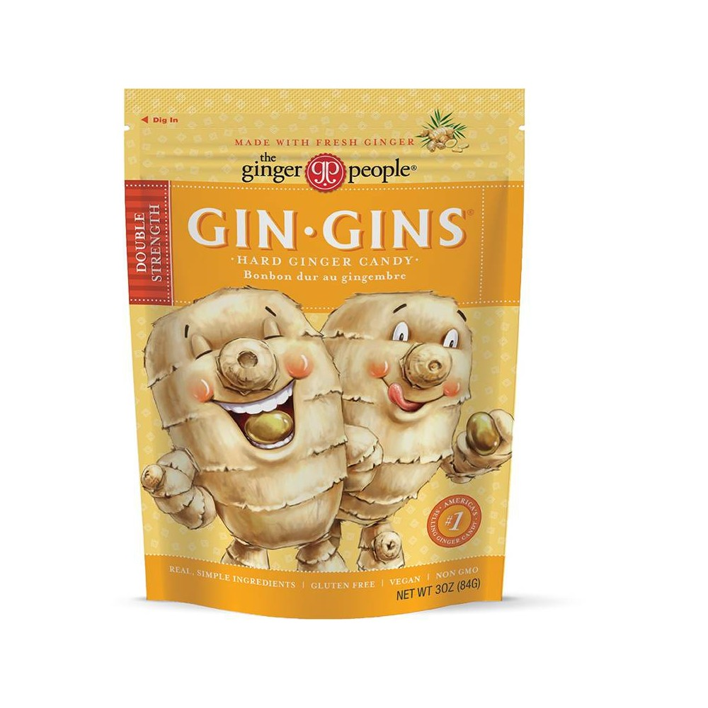 The Ginger People Gin - Gins Hard Candy - 3oz from The Ginger People