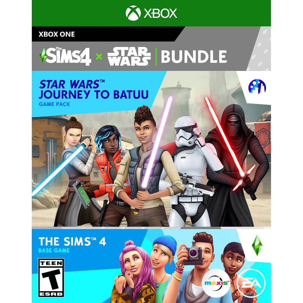 The Sims 4 + Star Wars Journey to Batuu Bundle - Xbox One from Electronic Arts