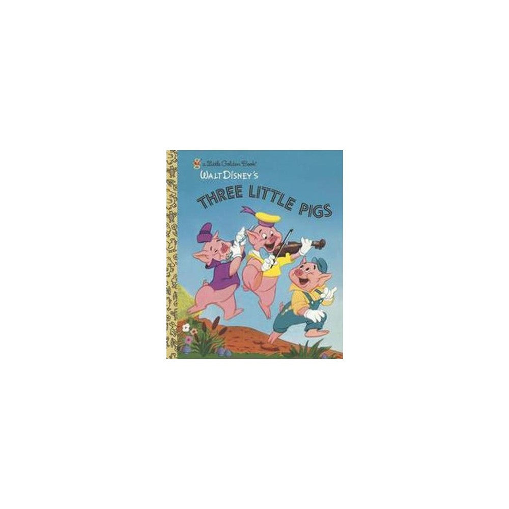 Three Little Pigs ( Little Golden Books) (Hardcover) by Golden Books Publishing Company from Random House