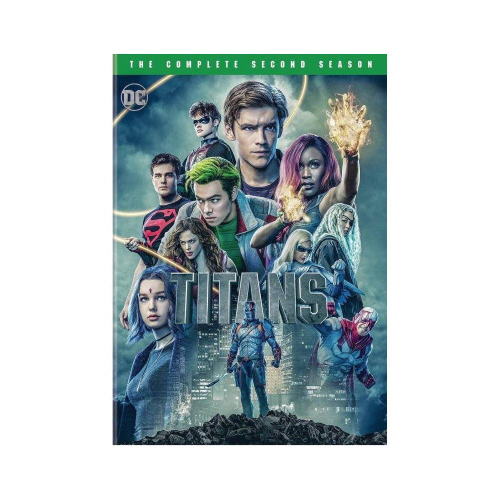 Titans: The Complete Second Season (DVD) from Warner