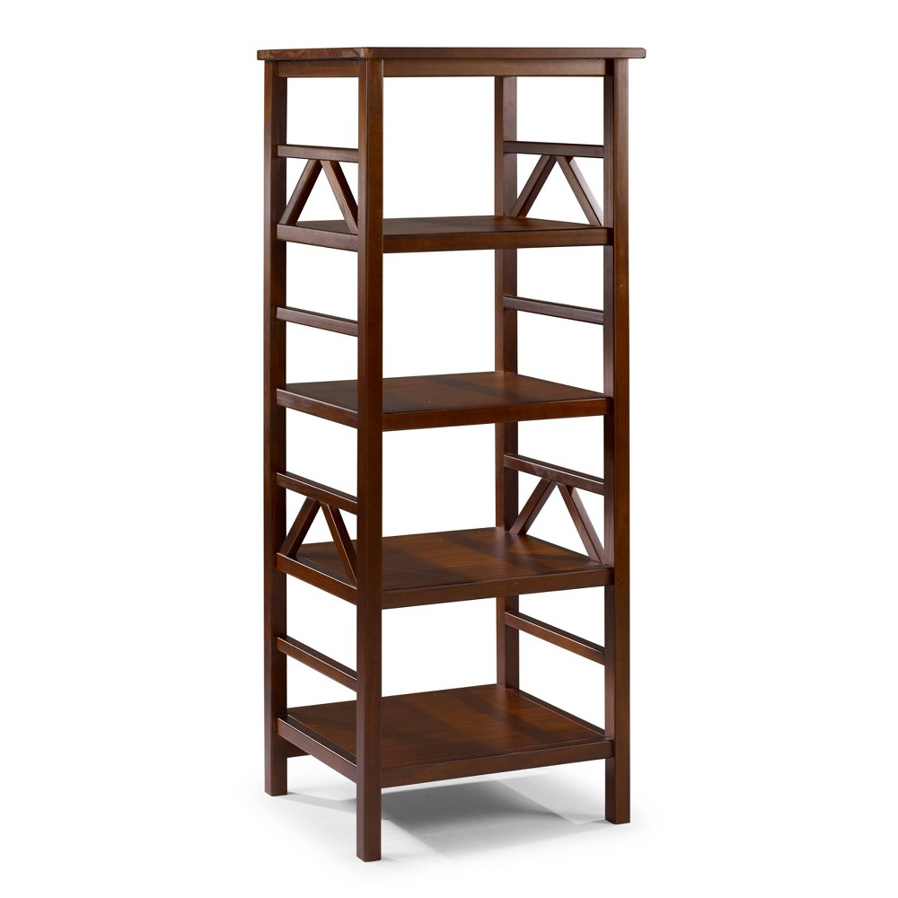 Titian 54.45 Bookcase Brown - Linon