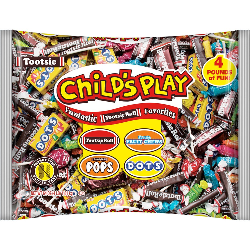 Tootsie Roll Child's Play Variety Pack - 4lb from Child's Play Candy