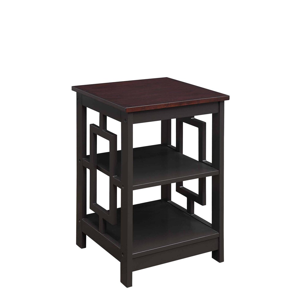 Town Square End Table Espresso - Breighton Home from Breighton Home