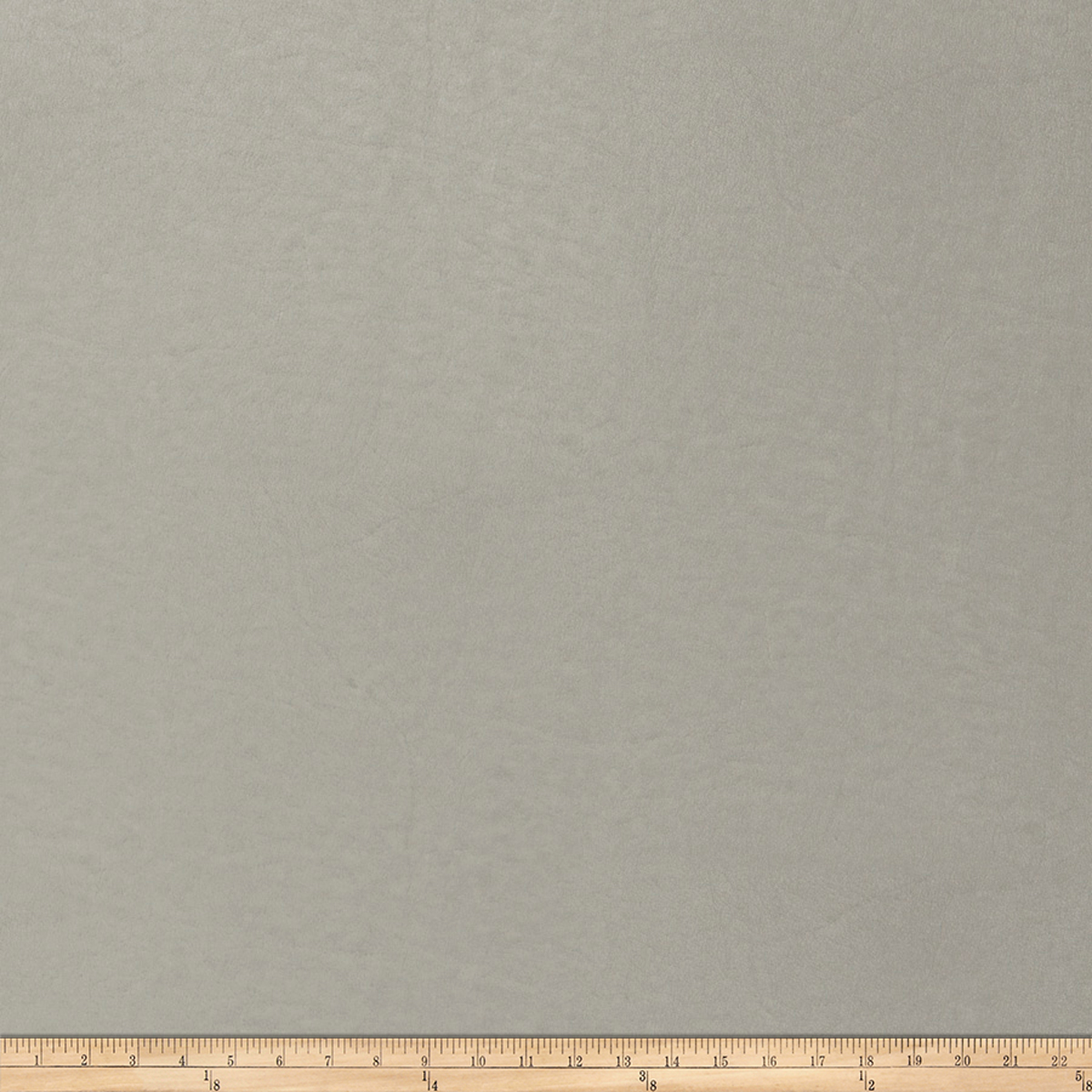 Trend 04105 Faux Leather Zinc Fabric