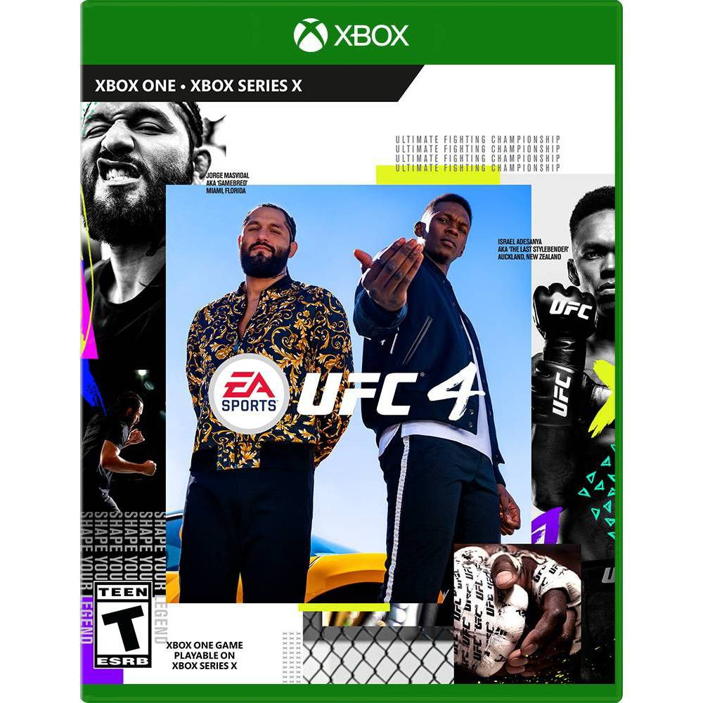 UFC 4 - Xbox One/Series X from Electronic Arts