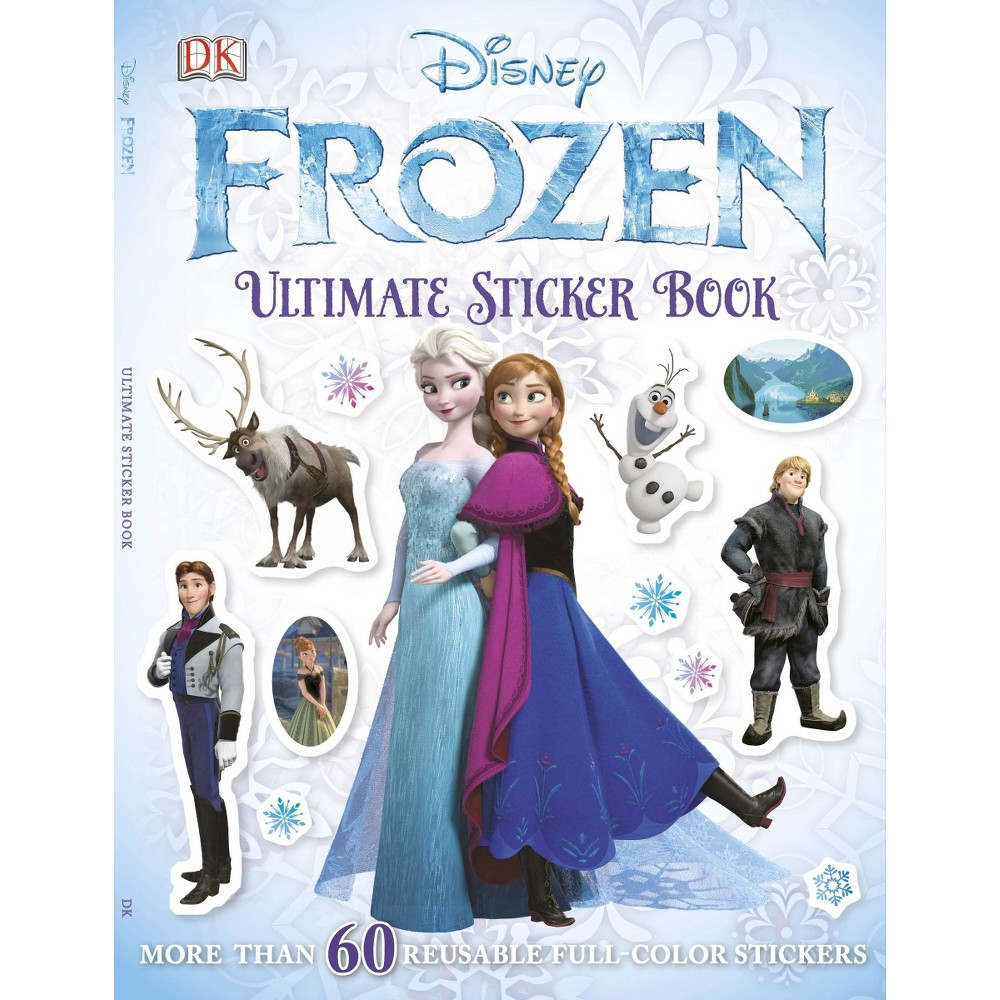 Ultimate Sticker Book: Frozen (Paperback) by Pamela Afram from Frozen