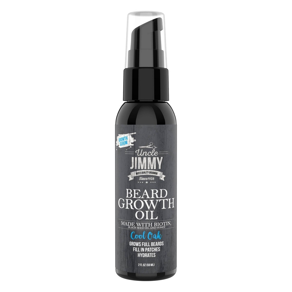 Uncle Jimmy Beard Growth Oil 2Z