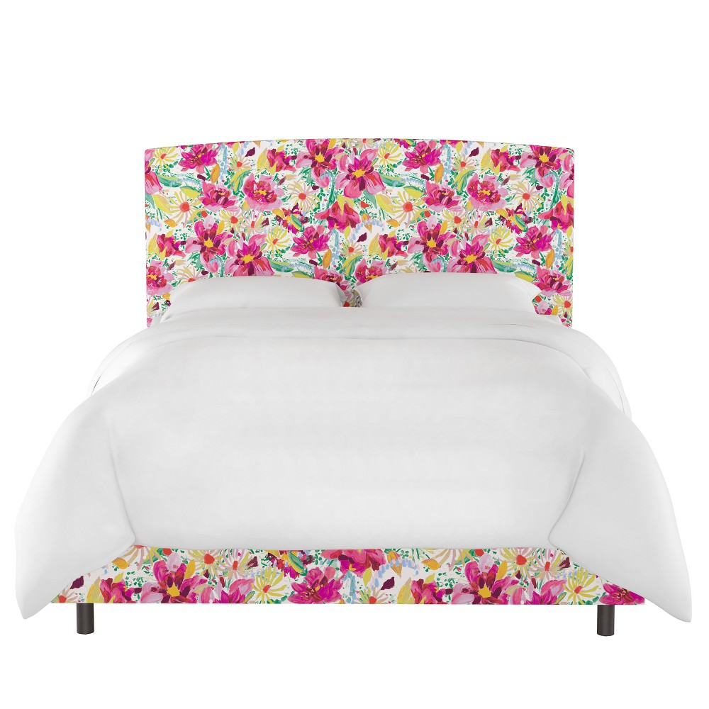Upholstered Bed Twin Bright Floral - Opalhouse