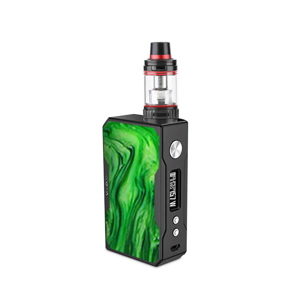 VOOPOO Black Drag Resin 157W with Uwell Valyrian TC Kit(Jade)