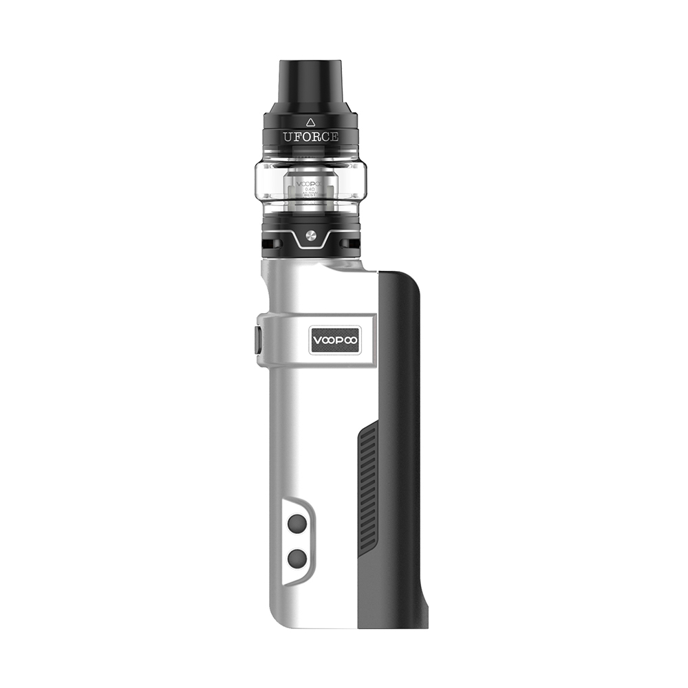 VOOPOO REX 80W TC Kit with UFORCE Tank(White, 5ml Standard Edition)
