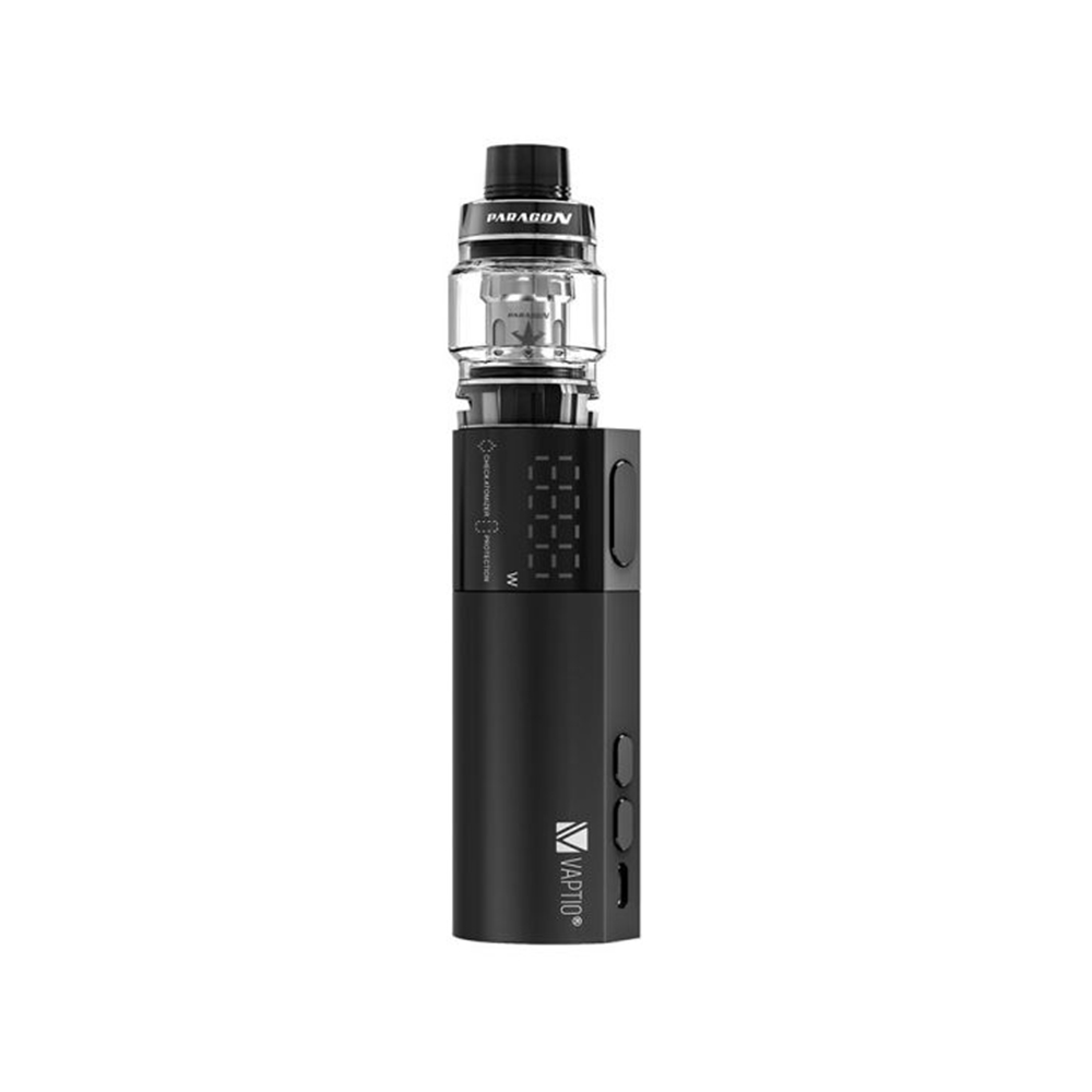 Vaptio VEX 100 VW Kit with Paragon Tank(Black, 8ml Standard Edition)