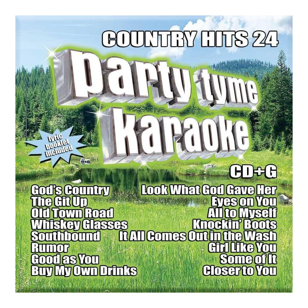 Party Tyme Karaoke - Country Hits 24 (CD) from Universal Music Group