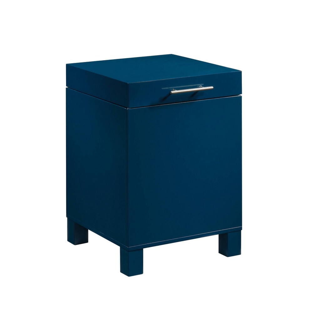 Vista Key Storage Side Table Navy Blue - Sauder from Sauder