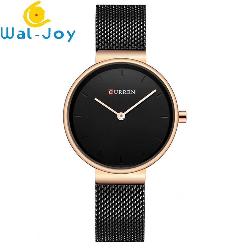 WJ-6691 Mesh Belt Hot Sale Shopping Online Fashion Curren Brand Watches For Lady