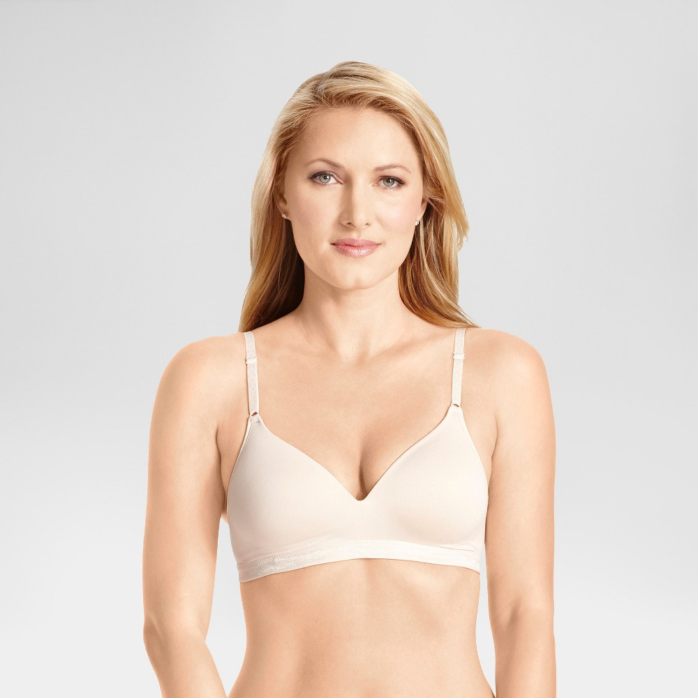 Simply Perfect by Warner's Women's Super Soft Wirefree Bra RM1691T - 34A Butterscotch from Simply Perfect by Warner's