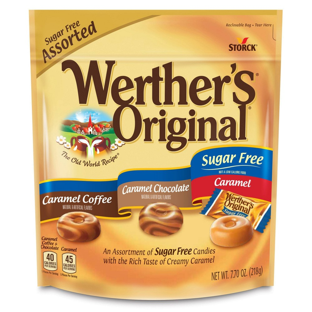 Werther's Original Sugar Free Assorted Flavors - 7.7oz from Werther's Original