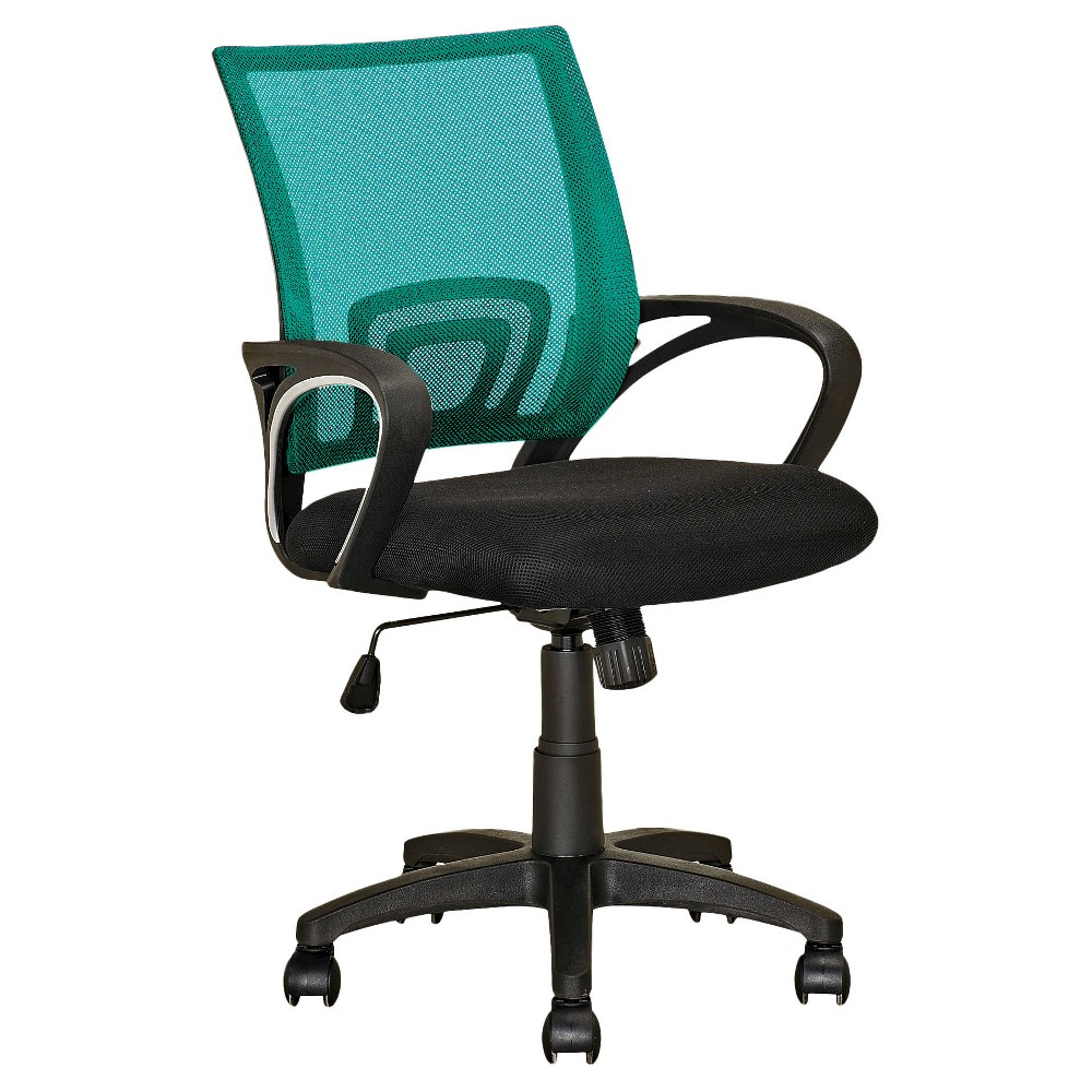 Workspace Mesh Back Office Chair Teal (Blue) - CorLiving