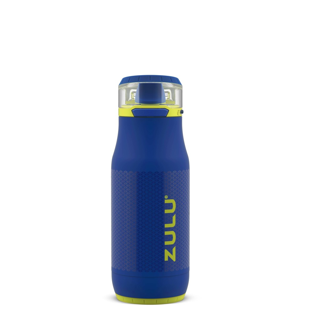 Zulu Chase 14oz Stainless Steel Water Bottle - Blue from Zulu