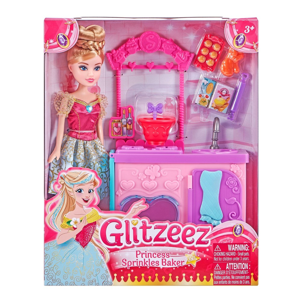 Zuru Princess Sprinkles Baker Playset from Glitzeez