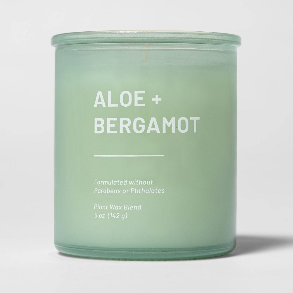 5oz Glass Jar Aloe and Bergamot Candle - Project 62 from Project 62